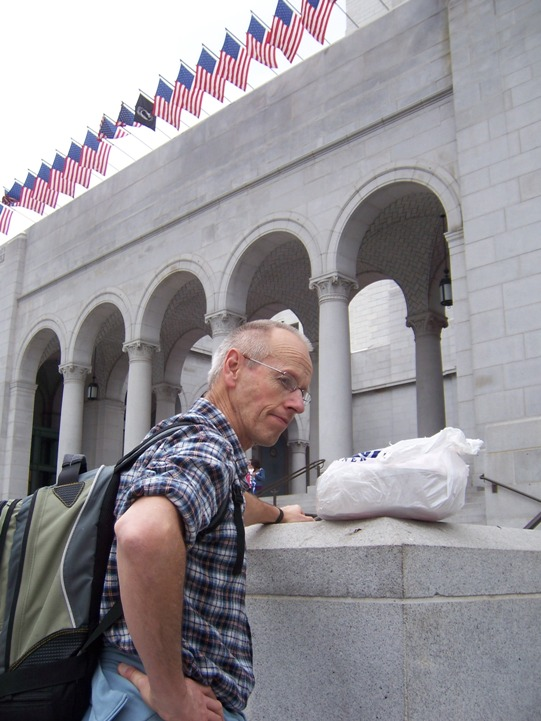 John and Cake at City Hall.JPG