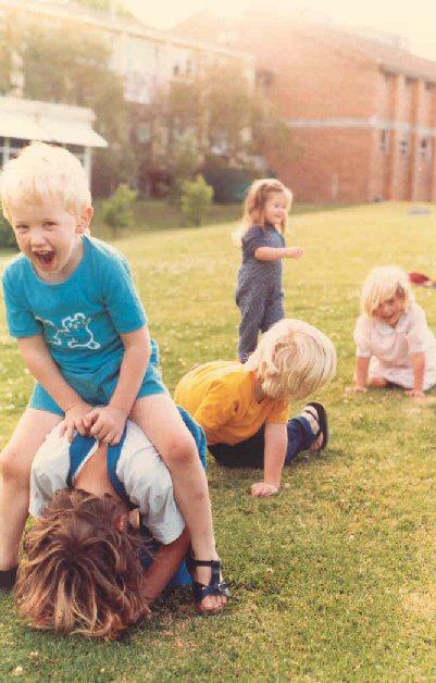 When we were little